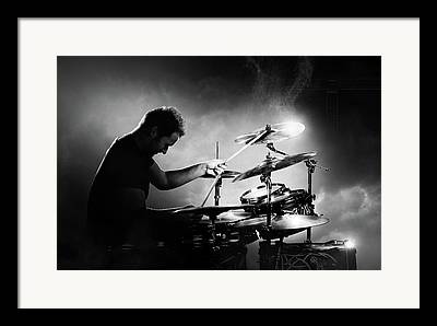 Live Music Photographs Framed Prints