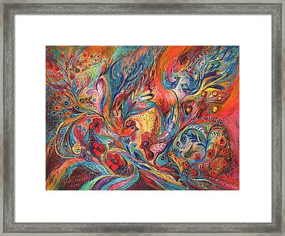 The Duel  Framed Print by Elena Kotliarker