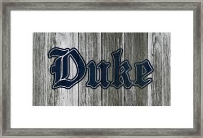 The Duke Blue Devils 1b Framed Print