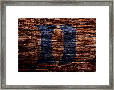 The Duke Blue Devils Framed Print by Brian Reaves