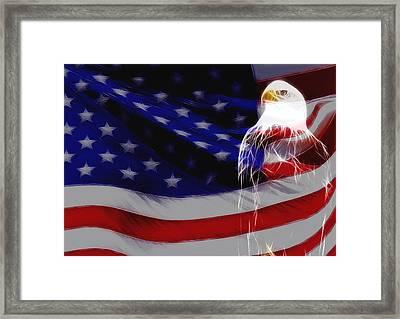 The Eagle Framed Print by Stefan Kuhn