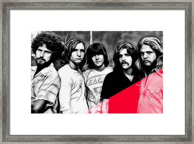 The Eagles Collection Framed Print