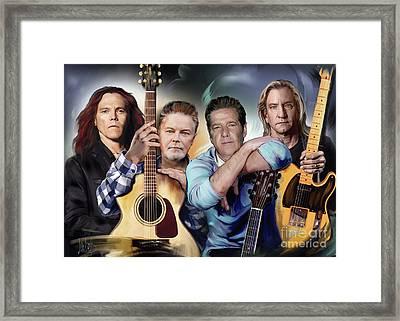 The Eagles Framed Print