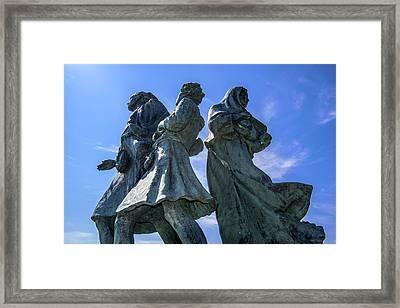 The Emigrants Framed Print