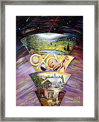 The Essence Of Energy Framed Print by Alfred Dolezal