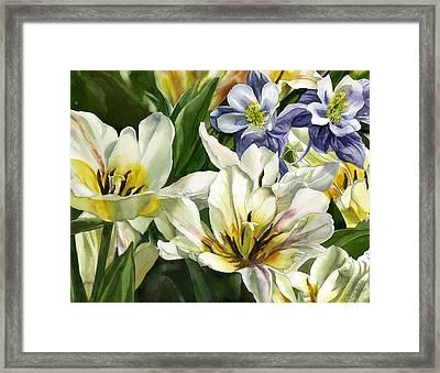 The Essence Of Spring Framed Print