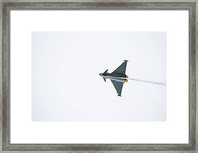 The Eurofighter Typhoon Framed Print