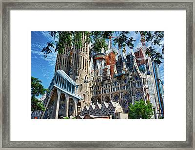 The Expiatory Temple Of The Holy Family Framed Print