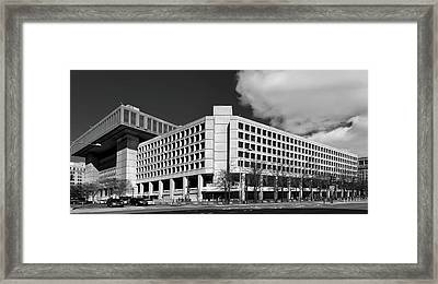 The F B I Building Framed Print by Mountain Dreams
