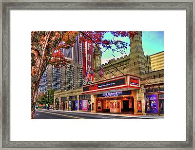 The Fabulous Fox Theatre Atlanta Georgia Art Framed Print
