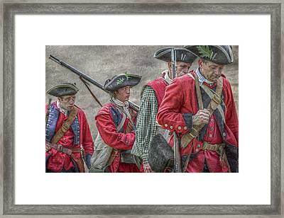 The Faces Of War Framed Print by Randy Steele