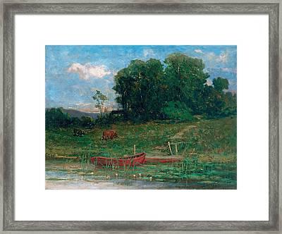 The Farm Landing Framed Print