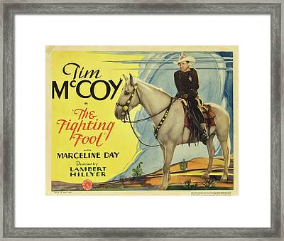 The Fighting Fool 1932 Framed Print