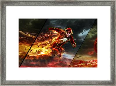 The Flash Collection Framed Print