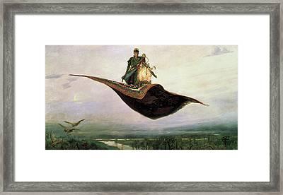 The Flying Carpet At Magic Carpet Framed Print