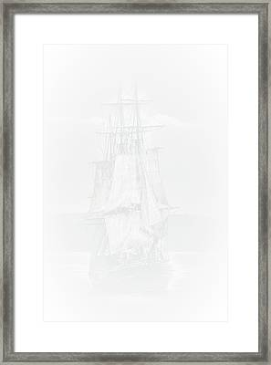 The Ghost Ship Framed Print by David Patterson