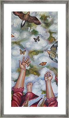 Framed Print featuring the painting The Gift by Sheri Howe