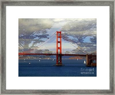The Golden Gate Bridge  Framed Print by Scott Cameron