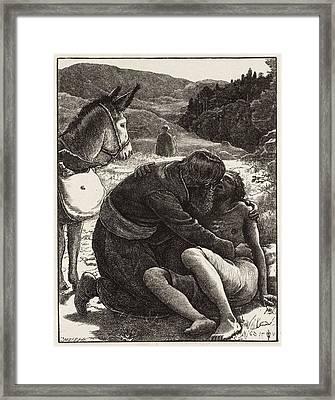 The Good Samaritan Framed Print by MotionAge Designs