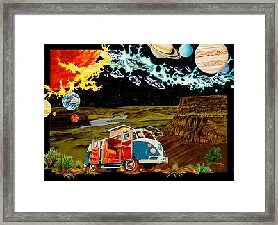 The Gorge One Sweet World Framed Print by Joshua Morton