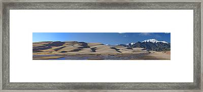 The Great Sand Dunes Framed Print
