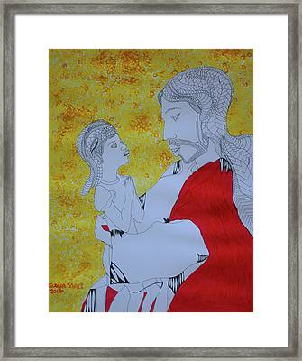 The Greatest In The Kingdom Of Heaven Framed Print