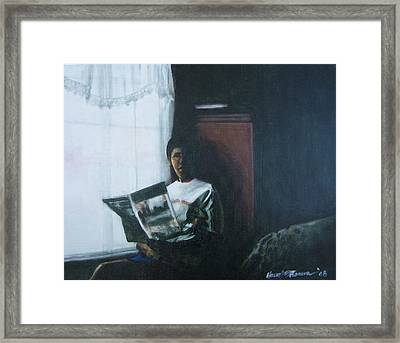 The Guest Room Framed Print by Howard Stroman