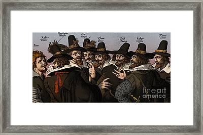 The Gunpowder Rebellion, 1605 Framed Print by Science Source