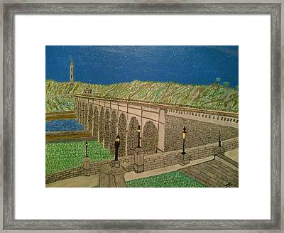 The Highbridge Framed Print by John Cunnane