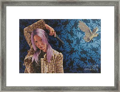 The Hijacker Framed Print