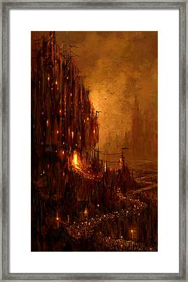 The Hive Framed Print by Philip Straub