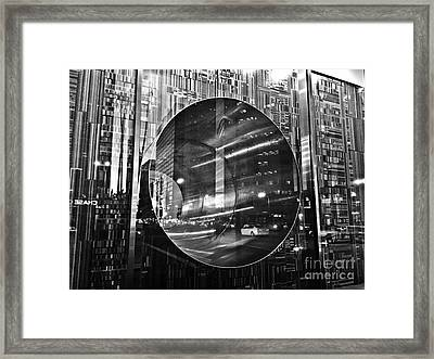 The Hole Framed Print