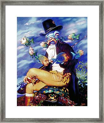 The Incompleat Angler Framed Print