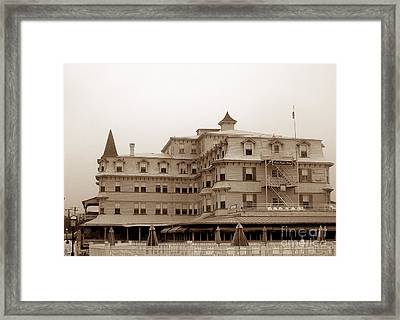 The Inn Of Cape May Framed Print
