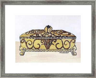The Jewelry Box Framed Print by Marsha Heiken