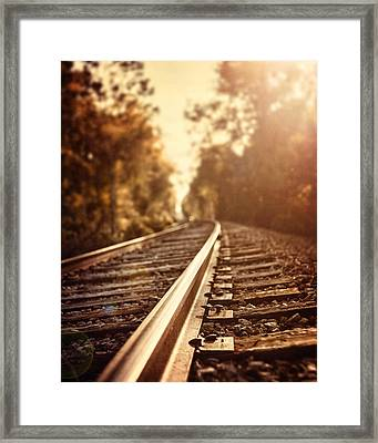 The Journey Framed Print by Lisa Russo