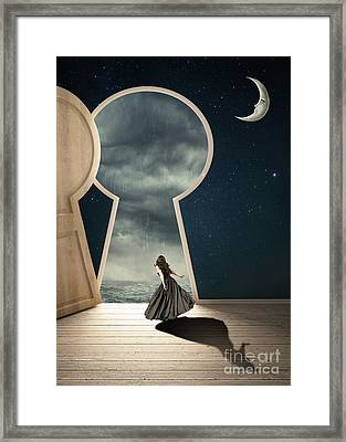 Curiouser And Curiouser Framed Print by Juli Scalzi