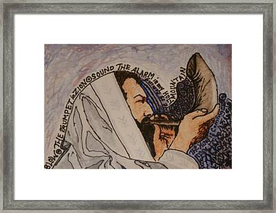 The King Is Coming Framed Print by Amy Parker