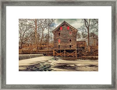 The Kymulga Mill Framed Print by Phillip Burrow