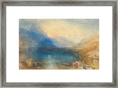 The Lake Of Zug Framed Print