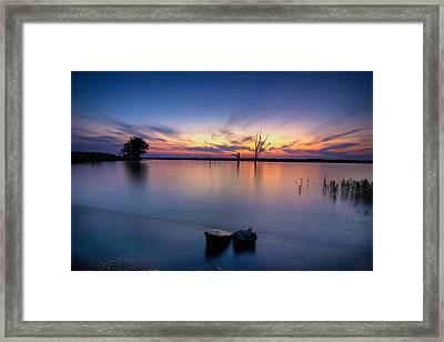 The Lakeside Framed Print by Ryan Heffron
