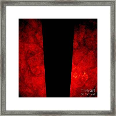The Lamp Framed Print by CML Brown