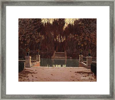 The Landing Stage Framed Print by Celestial Images