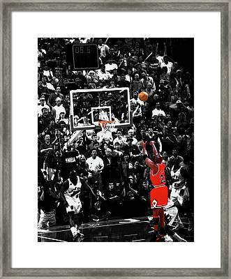 The Last Shot 23 Framed Print by Brian Reaves