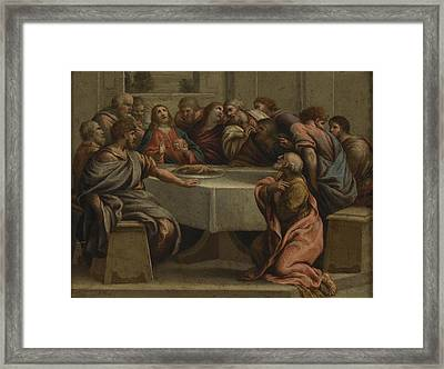 The Last Supper Framed Print by MotionAge Designs