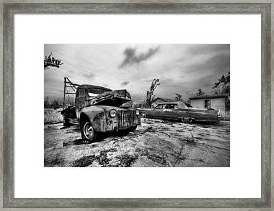 The Last Tow Framed Print