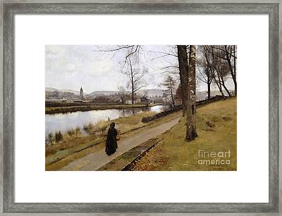 The Last Turning Framed Print by MotionAge Designs