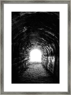 The Light At The End Framed Print by JC Findley