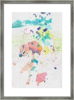 The Little Pony Framed Print