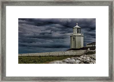 The Lizard Lighthouse Framed Print